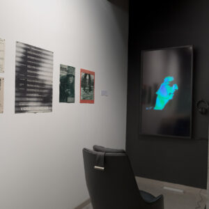 """© Paul Litherland, Artexte, 2020.  View of the exhibition """"Magnetic Sequences"""" presented in collaboration with Artexte"""