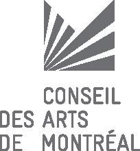 Conseil des arts de Montreal's logo