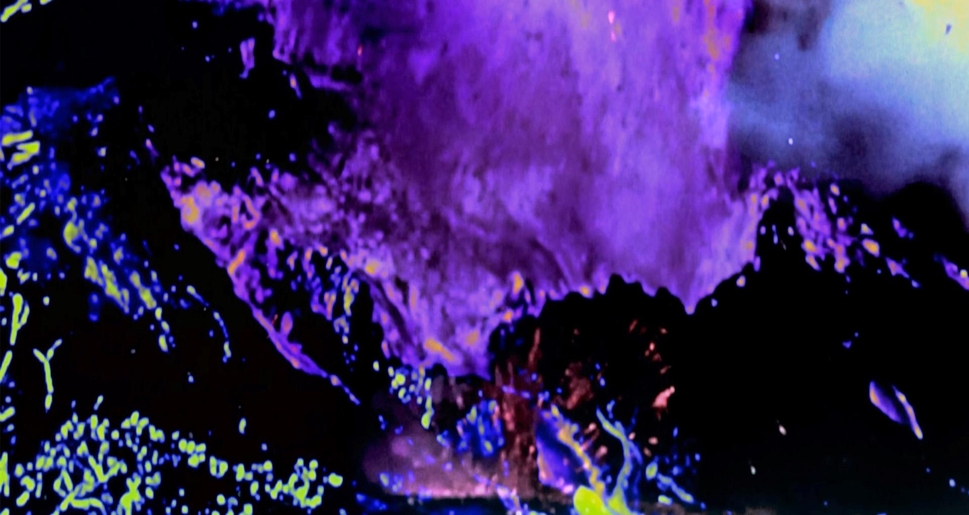 Image abstraite couleur.